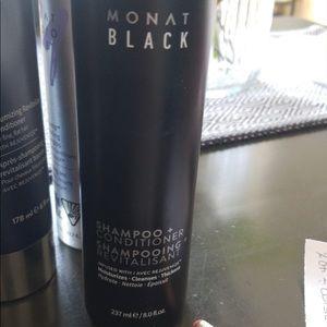 MONAT black ( shampoo and conditioner)